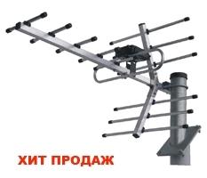 Антенна цифрового ТВ BAS-1162 DVB-T2 с усилителем
