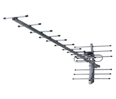 Антенна цифрового ТВ BAS-1163 DVB-T2 с усилителем