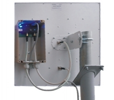 Антенна Крокс КАА20-1700/2700 MIMO с боксом. Усиление 2х20 дБ