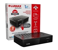 Ресивер цифрового ТВ Lumax DV-1103 HD
