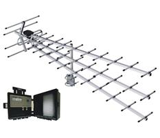 Антенна цифрового ТВ  Triton XL-LF с усилителем Бриз
