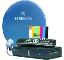 """Комплект с ресивером Opticum X80 с антенной и картой """"Лёгкий 7 лет"""""""