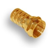Разъём F (Male) Gold