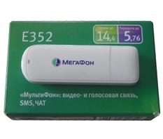 Модем 3G универсальный с антенным входом Huawei E352