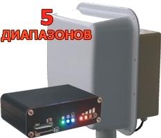 Комплект №15. Усиление 2х15 дБ Band 4G800/1800/2600 3G900/2100