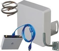 Комплект №2 с усилением 2x15 дБ. Диапазоны 4G1800/2600 3G2100