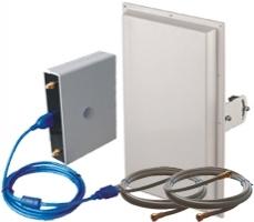 Комплект №4 c усилением 2х18 дБ. Диапазоны 4G1800/2600 3G2100