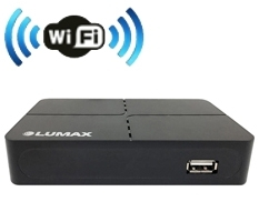 Ресивер цифрового ТВ Lumax DV-2118 HD Wi-Fi Internet