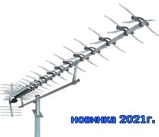 Антенна цифрового ТВ Мир Х100A New с усилителем