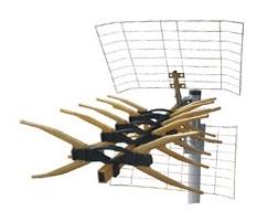 Антенна цифрового ТВ Мир Х50 Gold с усилителем DVB-T2