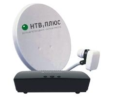 Комплект НТВ Плюс ресивер OpenTech IBS-VA70 HD с антенной