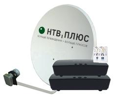 Комплект на 2 ТВ. Ресиверы OpenTech IBS VA70 HD c антенной