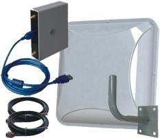 Комплект №3 c усилением 2х15 дБ. Диапазоны 4G1800/2600 3G2100