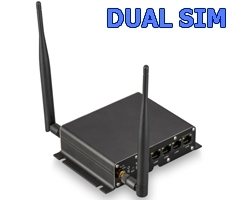 2G/3G/4G Роутер Крокс RT-CSE DC MQ-EC. Антенные входы F