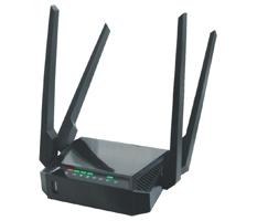 3G/4G Ready роутер ZBT-WE 3826. Четыре выхода Wi-Fi 4x20 dBi